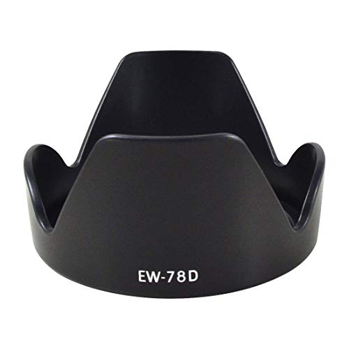 - MENGS EW-78D 72mm(Filter Attachment Size) Lens Hood ABS for Canon EF 28-200mm f/3.5-5.6 USM, EF-S 18-200mm f/3.5-5.6 is