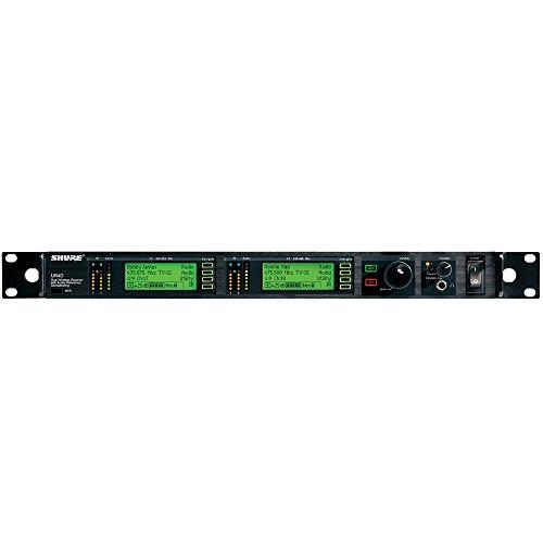 Shure UR4D+G1 Dual Channel Diversity Receiver (Band G1 (470-530 (Ur4d Dual Channel Receiver)