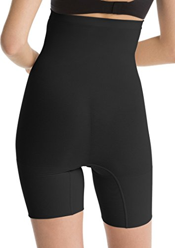 Donna Power Nero Guaina Spanx Higher Short wAqvxfHO