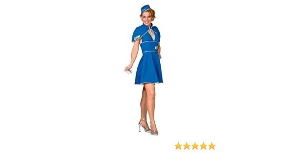 Britney Spears Air Hostess Fancy Dress Costume UK 8-10 (disfraz ...
