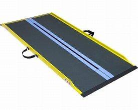 【車椅子用スロープ】車いす用可搬形スロープ ダンスロープライトスリム ◆長さ125cm [R-125SL] B00H7Y1FD8