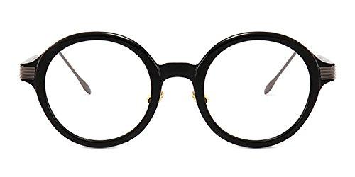 Slocyclub Round TR Metal Eyeglasses Optical Eyewear - Prescription Eyeglass Fill