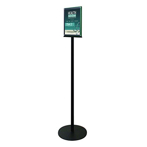 Deflecto Double-Sided Magnetic Sign Display, Magazine Size, 13 x 56 x 13 Inches (692056) (Magnetic Business Signs)