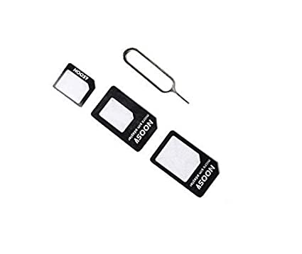 Noosy 222678 Kit Adaptador adaptadores Tarjetas SIM Card ...