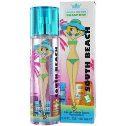 Beach Edt Spray (PARIS HILTON PASSPORT SOUTH BEACH by Paris Hilton EDT SPRAY 3.4 OZ for WOMEN)