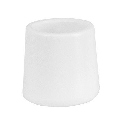 Flash LE-L-3-WHITE-CAPS-GG White Replacement Cap