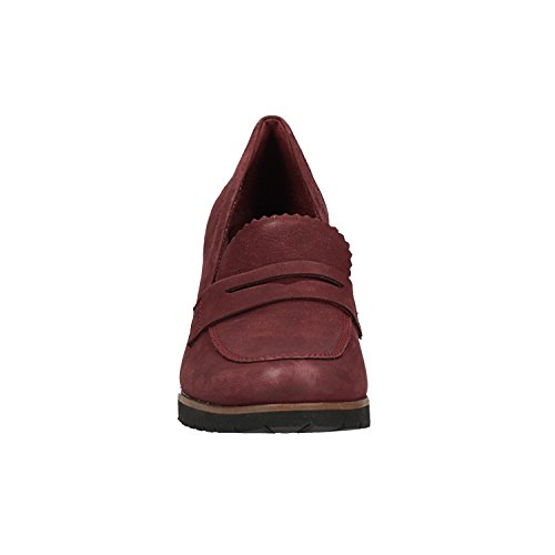 Moccasins Leslie Women's Red Anne Timberland wFtC5qn
