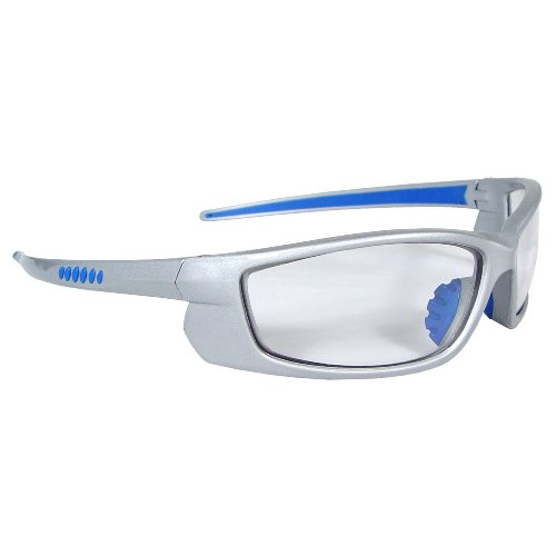 Radians VT6-10 Voltage Protective Safety Glasses, Clear Lens, Silver - Radians Sunglasses