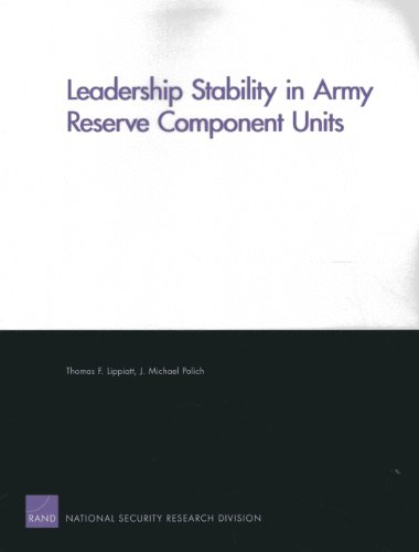 Leadership Stability in Army Reserve Component Units