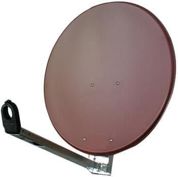 100 cm Gibertini Antena L Sat Espejo Aluminio Rojo: Amazon.es ...