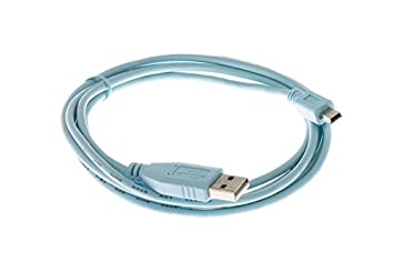 Amazon.com: Cisco CAB-CONSOLE-USB= Console Cable 6 ft with USB Ty ...
