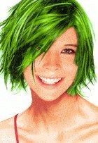 3oz Can Of Temporary Spray In Hair Color Green Hair Coloring Products Beauty Amazon Com
