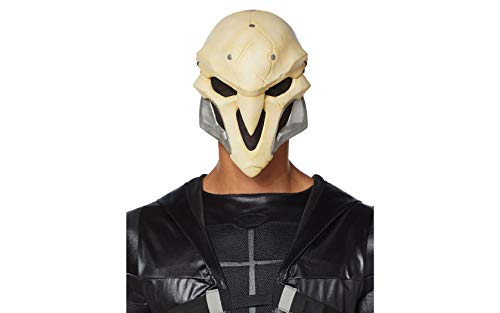 Overwatch Reaper Deluxe Foam Mask White