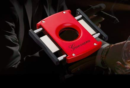 GUEVARA Cigar Cutter & Lighter 1-Set 6208A Torch Without Gas by Guevara (Image #1)