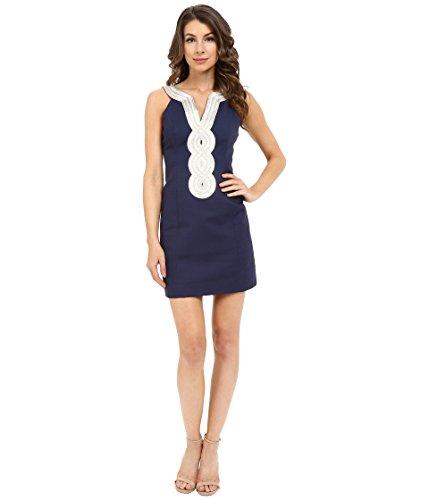 - Lilly Pulitzer Women's Valli Shift Dress True Navy 6