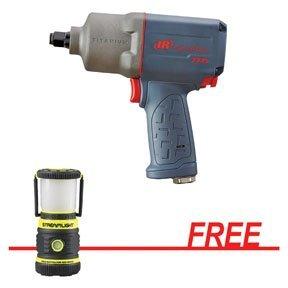 IRC-2235TIMAXSG 2235 Series 1/2'' Impactool w/FREE The Siege AA Alkaline Work Lantern with Magnetic Base, Yellow