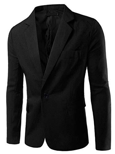 Fit Tuxedo Hommes Poilu Manteau De Slim Affaires Loisir Tunique Costume Schwarz 48 Classique Pour Essential Manteaux Couleur Noël 56 Blazer Veste Unie Court Festif xIPnCwqSp