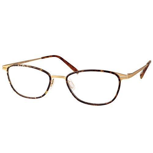 Modo 4406 TTGLD Tortoise Gold Titanium Oval Eyeglasses 50mm