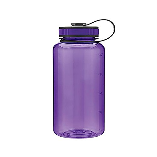 Bottles Water Lifeline - Widemouth Tritan BPA-Free Water Bottle - 34oz. Capacity - Purple