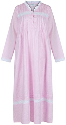 the-1-for-u-100-cotton-nightgown-vintage-design-annabelle-xl-pink-butterfly