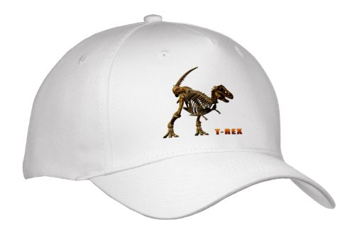 Price comparison product image Boehm Graphics Dinosaur - T Rex Dinosaur - Caps - Youth Baseball Cap