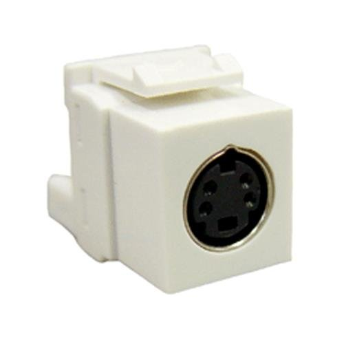 ICC ICC-IC107SVIWH Module- S-Video Idc- White