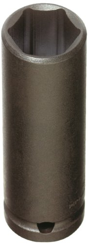 Stanley Proto  J7324HT 1/2-Inch Drive Thin Wall Deep Impact Socket, 3/4-Inch, 6 - Wall Socket Deep Thin