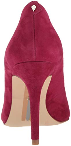 Pink Sam Margie Women''s Suede Edelman Pomegranate Pump fXXqz
