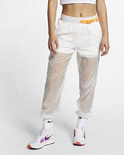 Nike Pantalones de chándal de Mujer Sportswear en Tela Blanca ...