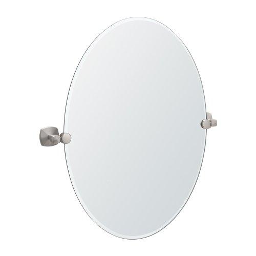 Jewel 26.5 H x 19.5 Mirror, Satin Nickel