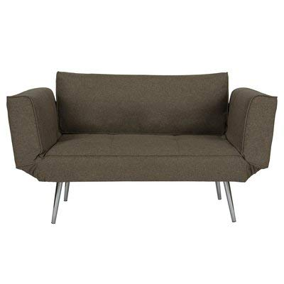 Amazon.com: 100% Linen Convertible Loveseat Sofa Bed for ...