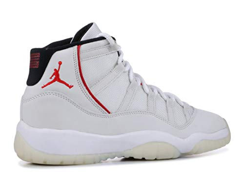 Jordan Kid's Air 11 Retro GS, Platinum Tint/SAIL-University RED, Youth Size 5 by Nike (Image #3)