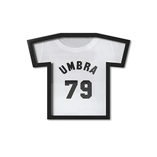 Umbra T-Frame Unique Display Case to Showcase Youth Sized T-Shirts (Small to Large), Black