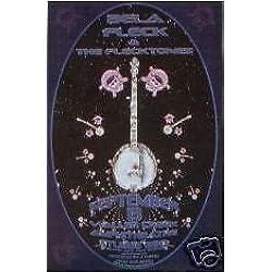 Bela Fleck Flecktones Victor Wooten Rare Austin Texas Bluegrass Concert Poster