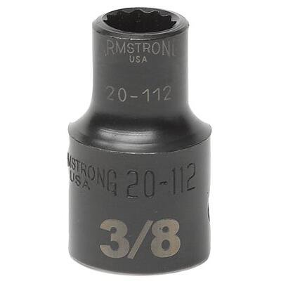 "UPC 781412201222, 1/2"" Dr. Standard Sockets - 1/2"" dr power skt 11/16"" 12-pt std b"