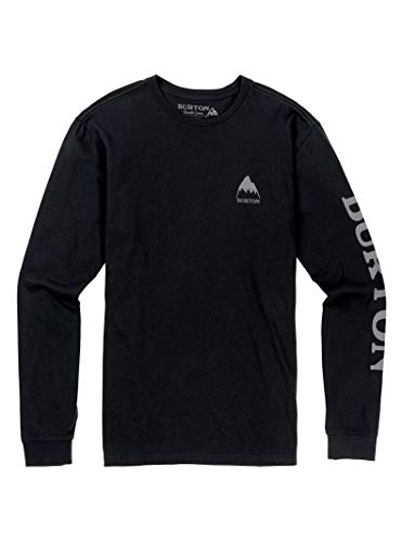 Burton Men's Elite Long Sleeve T-Shirt, Phantom, Medium from Burton