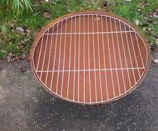 Parrilla, rejilla para brasero – Maceta redonda de 60 cm, Jardín ...