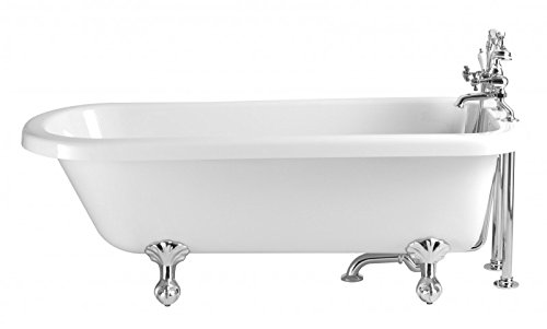 Casa Padrino Nouveau bath detached White Model Helper 1660mm - Freestanding Retro