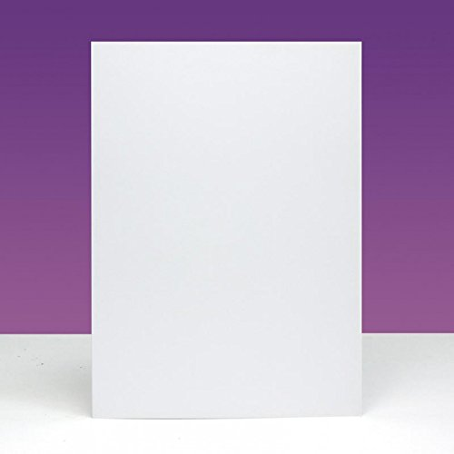 Hunkydory Crafts 5x7 Ink Me Card Blanks 10 300gsm Cards & 100gsm Envelopes