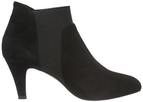 Classiques Schnoor Bottes Sofie Black Elastic Noir Suede Femme Boot qRdFnFBXrw