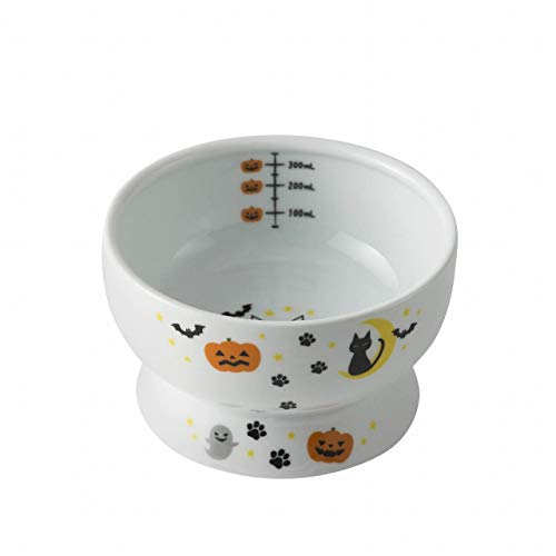 Necoichi Raised Cat Water Bowl (Halloween Limited Edition, Regular)