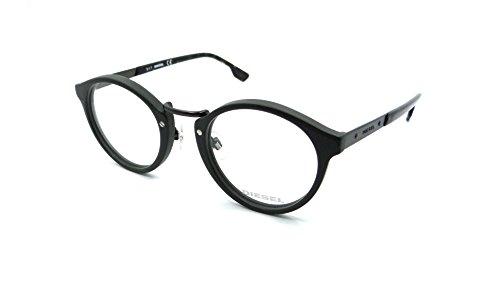 Diesel Rx Eyeglasses Frames DL5216 097 48-23-145 Dark Green
