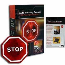 Auto Parking Sensor with Flashing Warning Light