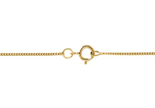 Carissima Gold - Collier - Femme - Or Jaune 375/1000 (9 cts) 1.9 gr - Diamant - 46 cm