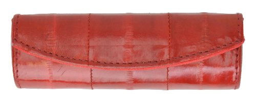 Elegant Design Eelskin Soft Leather Lipstick case by Marshal