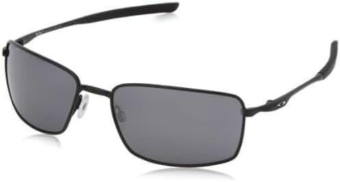 Oakley Square Wire Non-polarized Iridium Rectangular Sunglasses