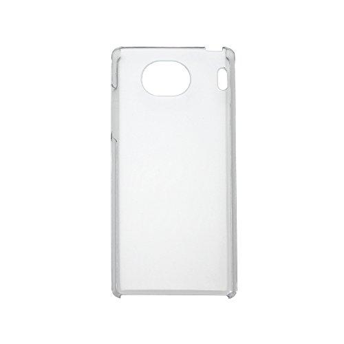 d628106f40 au Qua phone QX (キュアフォンQX) KYV42 用 クリア ハードケース (新品