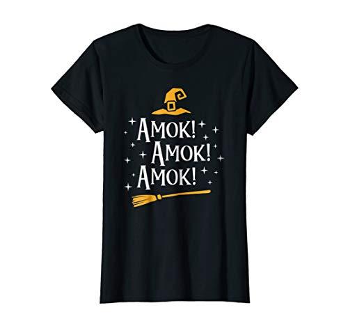 Amok Amok Amok T Shirt Cute Costume Idea Sisters Halloweens ()