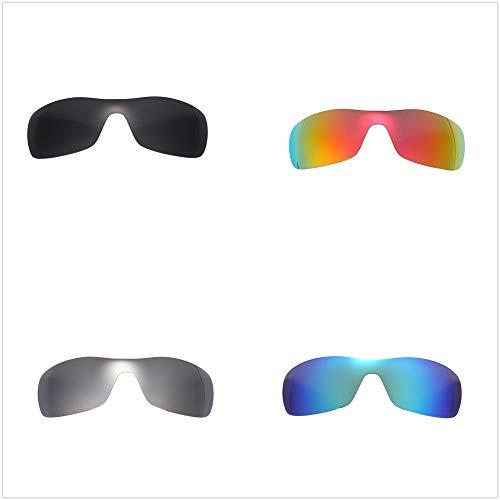 5c11e060e6 Set of 4 Polarized Replacement Lenses for Oakley Antix Sunglasses NicelyFit