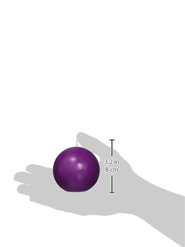 Purple CBZ-023 Zest Candle 6-Piece Ball Candles 3-Inch